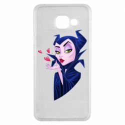 Чехол для Samsung A3 2016 Maleficent and a kiss
