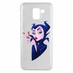 Чехол для Samsung J6 Maleficent and a kiss