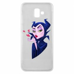Чехол для Samsung J6 Plus 2018 Maleficent and a kiss