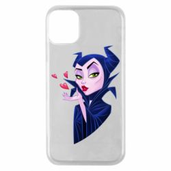 Чехол для iPhone 11 Pro Maleficent and a kiss
