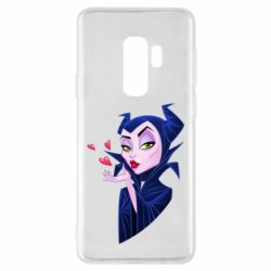 Чехол для Samsung S9+ Maleficent and a kiss
