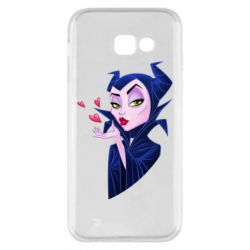 Чехол для Samsung A5 2017 Maleficent and a kiss