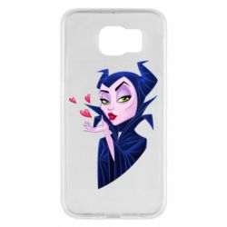 Чехол для Samsung S6 Maleficent and a kiss