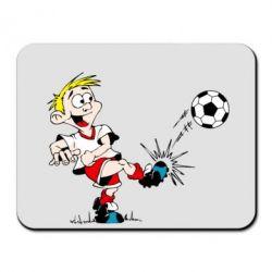 Коврик для мыши Маленький футболист - FatLine