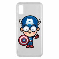 Чехол для Xiaomi Mi8 Pro Маленький Капитан Америка