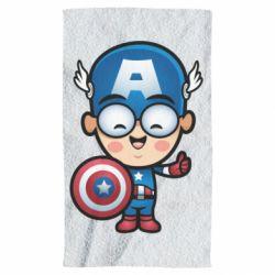 Полотенце Маленький Капитан Америка
