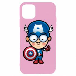 Чехол для iPhone 11 Pro Маленький Капитан Америка