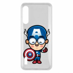 Чохол для Xiaomi Mi A3 Маленький Капитан Америка