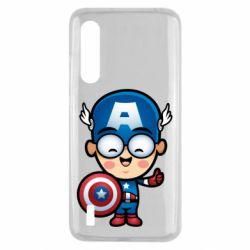 Чехол для Xiaomi Mi9 Lite Маленький Капитан Америка