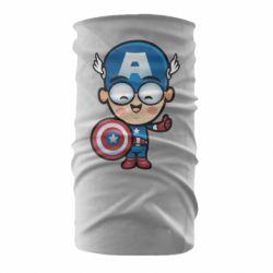 Бандана-труба Маленький Капитан Америка
