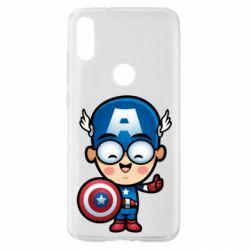 Чехол для Xiaomi Mi Play Маленький Капитан Америка