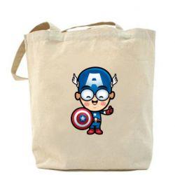 Сумка Маленький Капитан Америка - FatLine