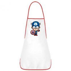 Фартук Маленький Капитан Америка - FatLine