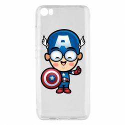 Чехол для Xiaomi Mi5/Mi5 Pro Маленький Капитан Америка