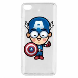 Чехол для Xiaomi Mi 5s Маленький Капитан Америка
