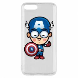 Чехол для Xiaomi Mi6 Маленький Капитан Америка