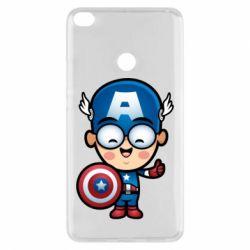 Чехол для Xiaomi Mi Max 2 Маленький Капитан Америка