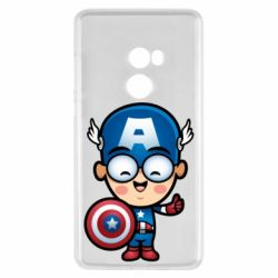 Чехол для Xiaomi Mi Mix 2 Маленький Капитан Америка
