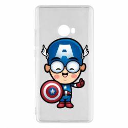 Чехол для Xiaomi Mi Note 2 Маленький Капитан Америка