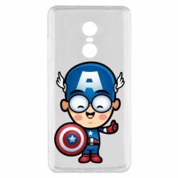Чехол для Xiaomi Redmi Note 4x Маленький Капитан Америка