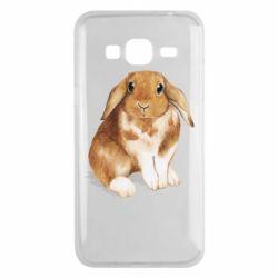 Чохол для Samsung J3 2016 Маленький кролик