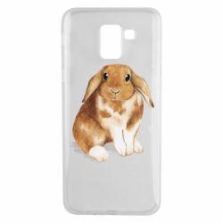 Чохол для Samsung J6 Маленький кролик