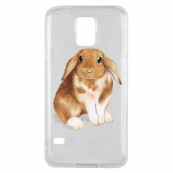 Чохол для Samsung S5 Маленький кролик