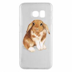 Чохол для Samsung S6 EDGE Маленький кролик