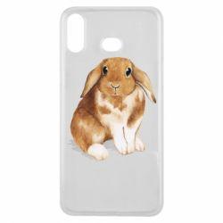 Чохол для Samsung A6s Маленький кролик