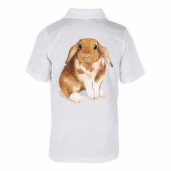 Дитяча футболка поло Маленький кролик