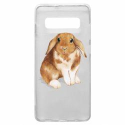 Чохол для Samsung S10+ Маленький кролик