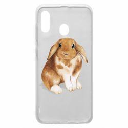 Чохол для Samsung A20 Маленький кролик