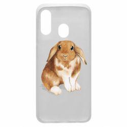 Чохол для Samsung A40 Маленький кролик