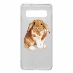 Чохол для Samsung S10 Маленький кролик
