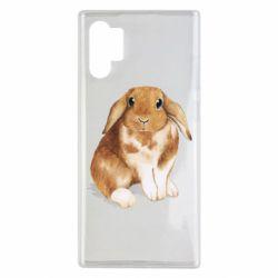 Чохол для Samsung Note 10 Plus Маленький кролик