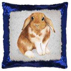 Подушка-хамелеон Маленький кролик