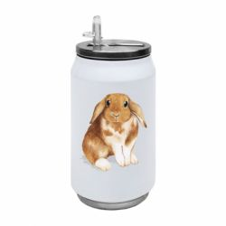 Термобанка 350ml Маленький кролик