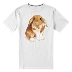 Чоловіча стрейчева футболка Маленький кролик