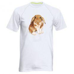 Чоловіча спортивна футболка Маленький кролик