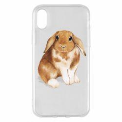 Чохол для iPhone X/Xs Маленький кролик