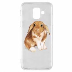 Чохол для Samsung A6 2018 Маленький кролик