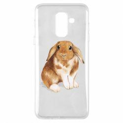 Чохол для Samsung A6+ 2018 Маленький кролик