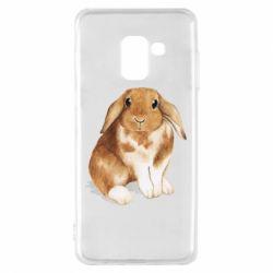 Чохол для Samsung A8 2018 Маленький кролик