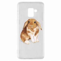 Чохол для Samsung A8+ 2018 Маленький кролик