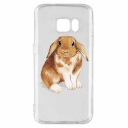 Чохол для Samsung S7 Маленький кролик