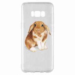 Чохол для Samsung S8+ Маленький кролик