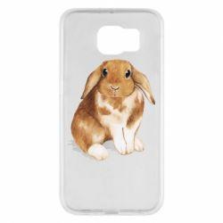 Чохол для Samsung S6 Маленький кролик