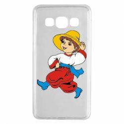 Чехол для Samsung A3 2015 Маленький українець - FatLine