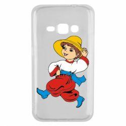 Чехол для Samsung J1 2016 Маленький українець - FatLine