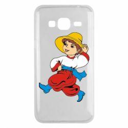 Чехол для Samsung J3 2016 Маленький українець - FatLine